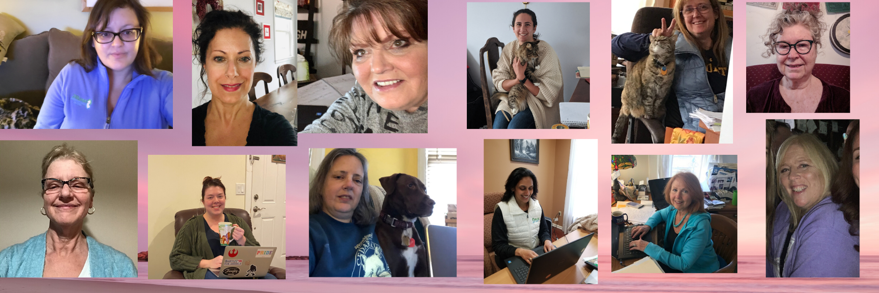 Anjec Staff working from home